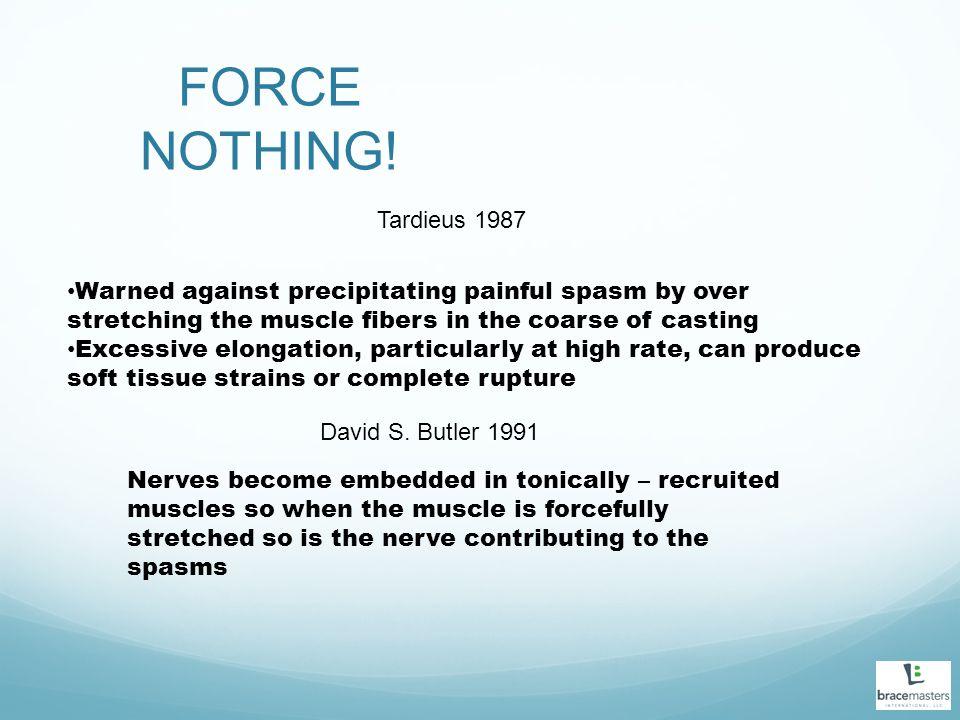 FORCE NOTHING! Tardieus 1987