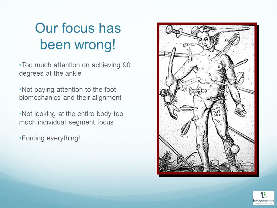 Our focus has been wrong!
