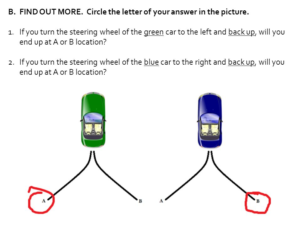 FIND OUT MORE. Circle the letter of your answer in the picture.