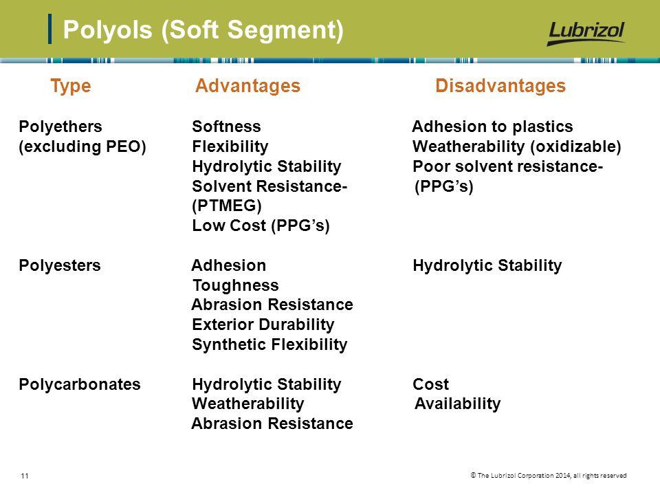Polyols (Soft Segment)