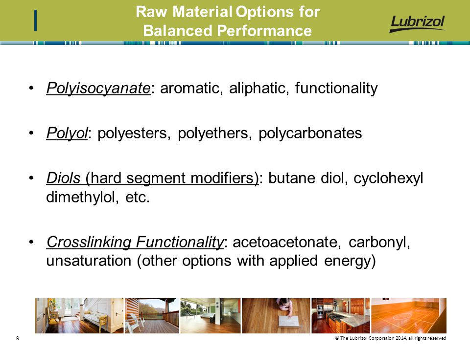 Raw Material Options for Balanced Performance