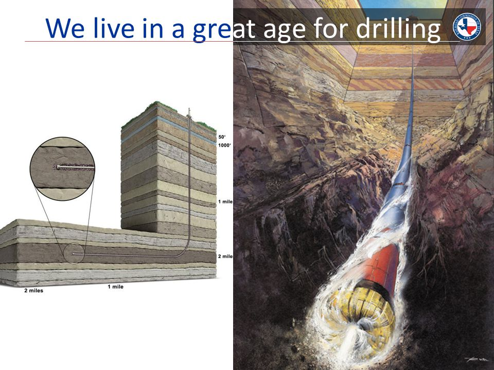 We live in a great age for drilling