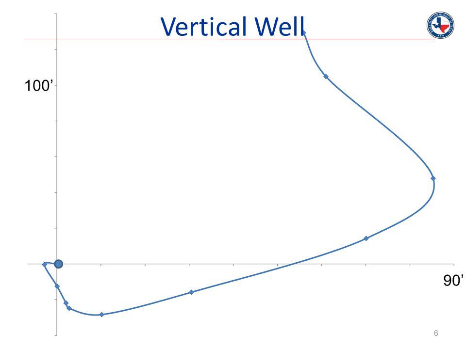Vertical Well 100' 90'