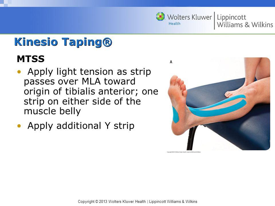 Kinesio Taping® MTSS.