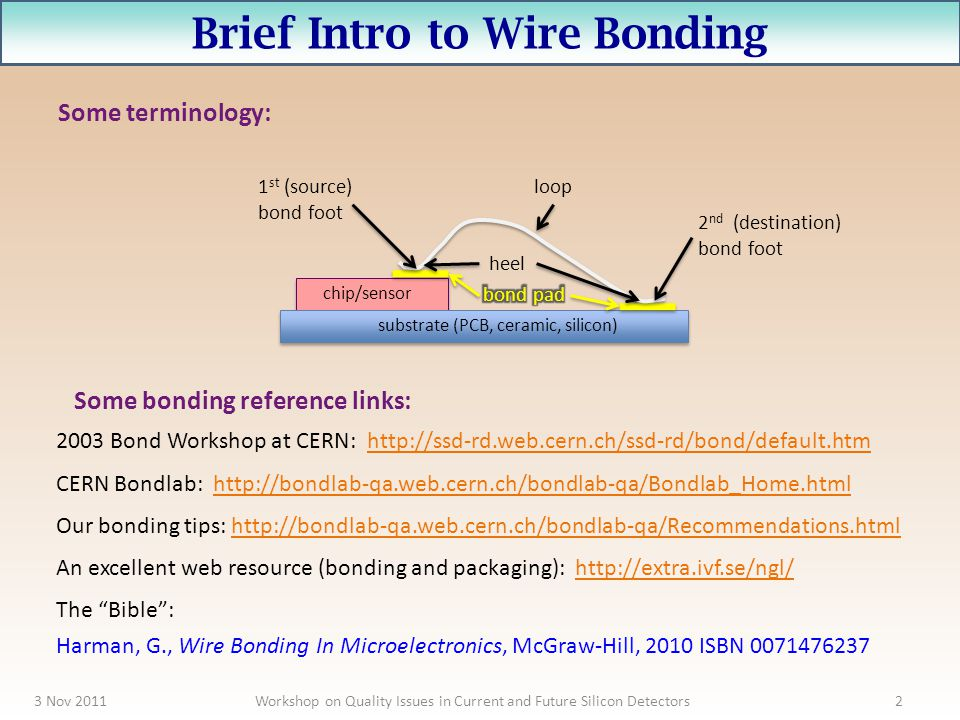 Brief Intro to Wire Bonding