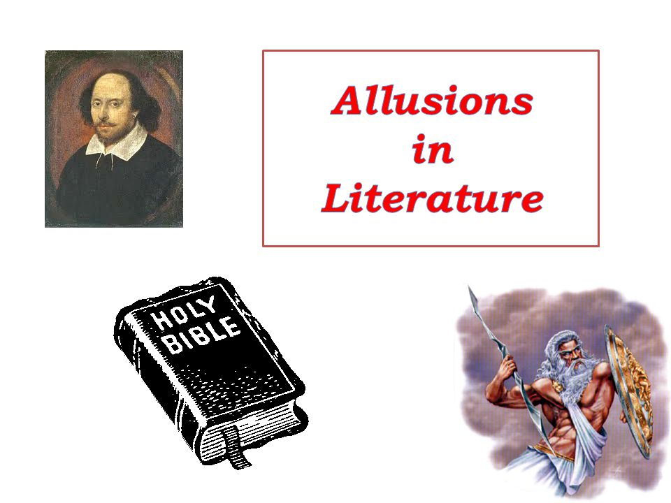 Allusions in Literature