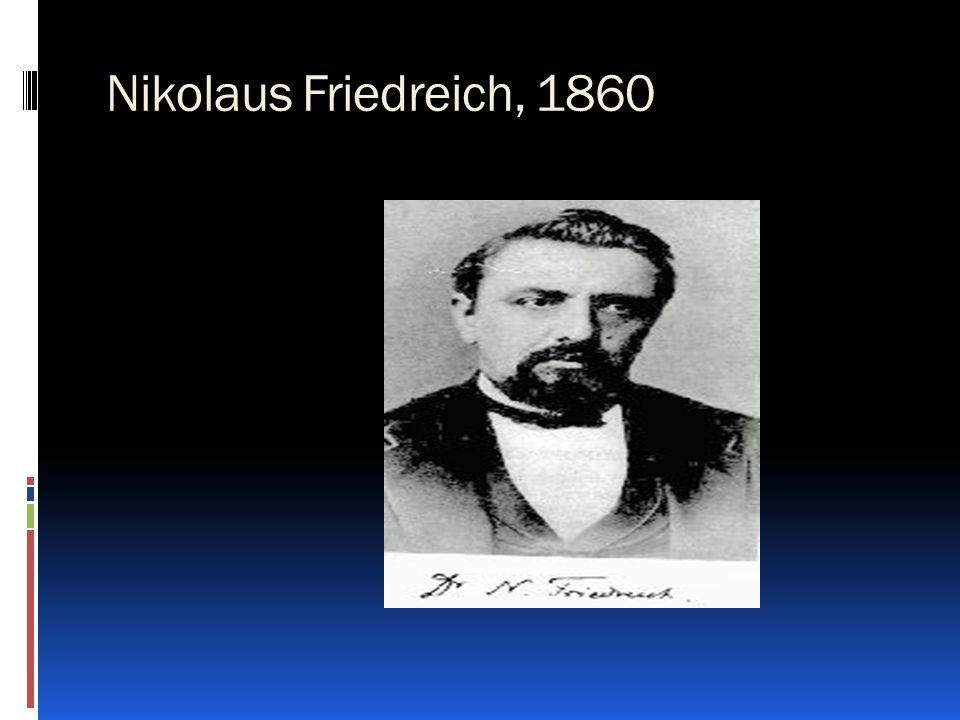 Nikolaus Friedreich, 1860
