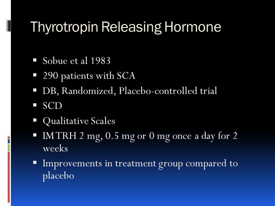 Thyrotropin Releasing Hormone