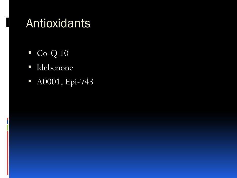 Antioxidants Co-Q 10 Idebenone A0001, Epi-743