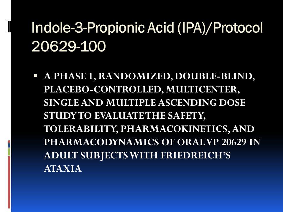 Indole-3-Propionic Acid (IPA)/Protocol 20629-100