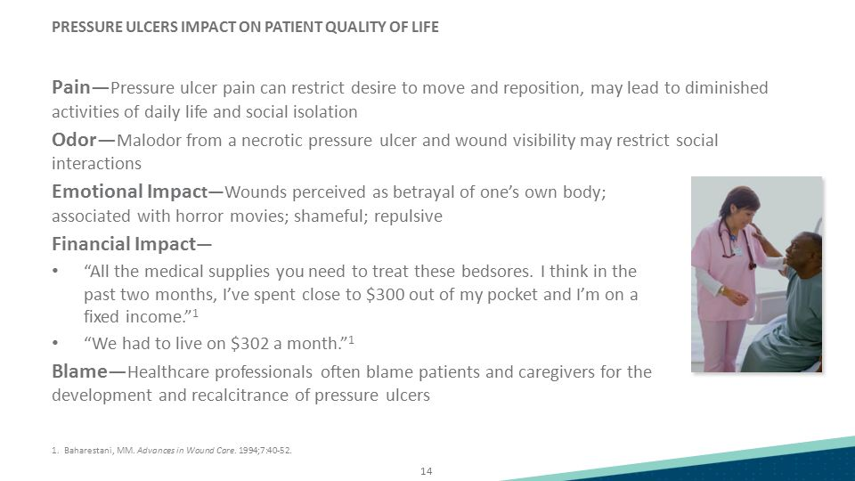 PRESSURE ULCERS IMPACT ON PATIENT QUALITY OF LIFE
