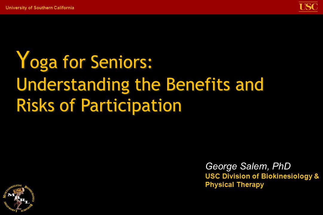 Yoga for Seniors: Understanding the Benefits and Risks of Participation