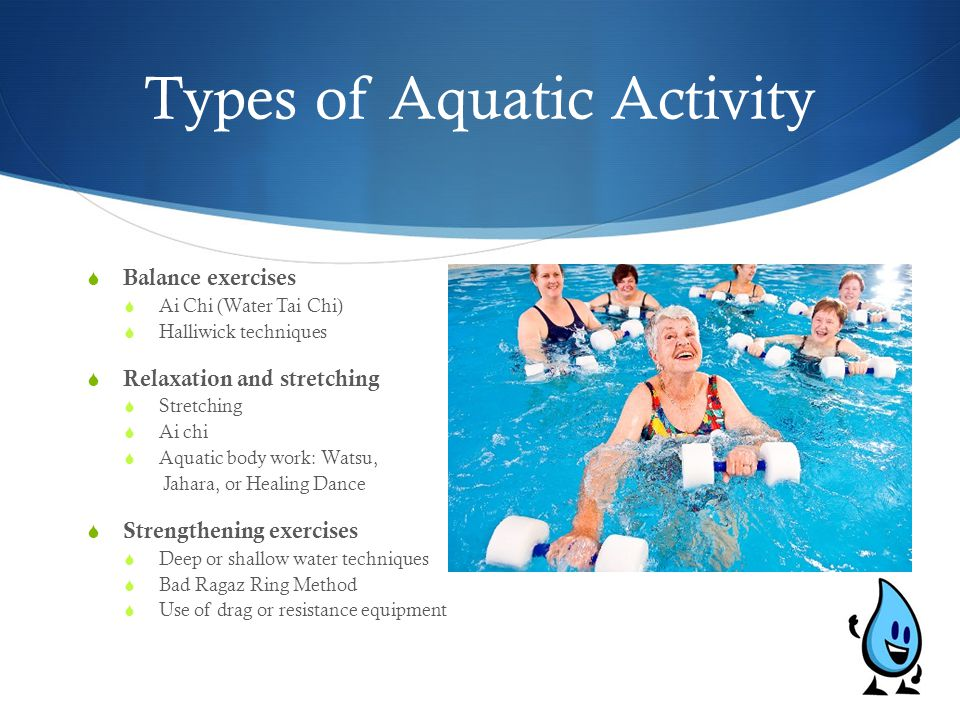 Types of Aquatic Activity