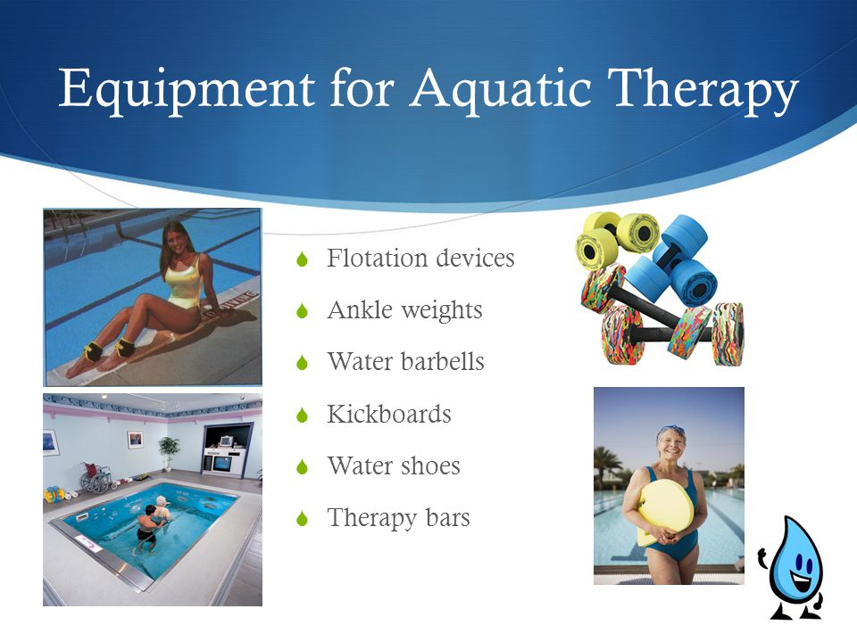 Equipment for Aquatic Therapy