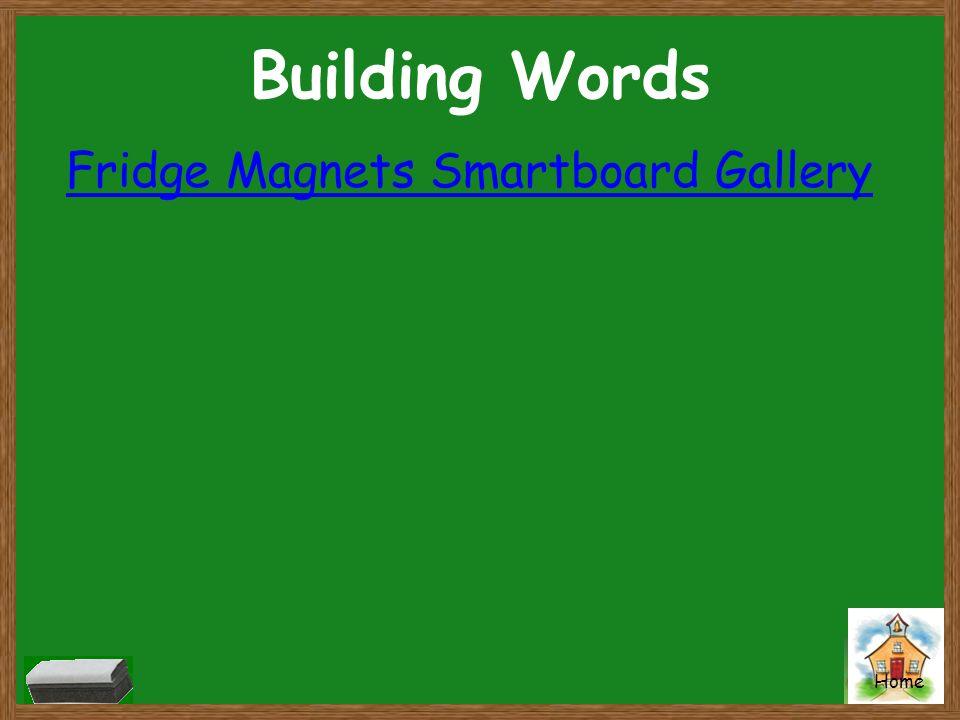 Building Words Fridge Magnets Smartboard Gallery