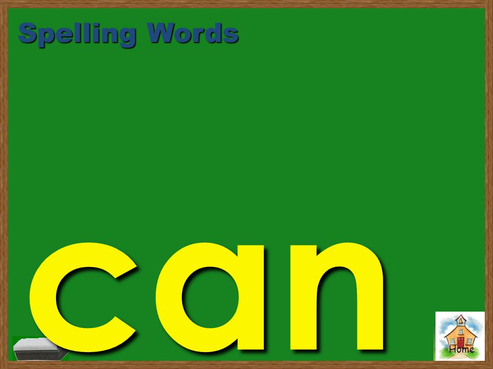 Spelling Words can