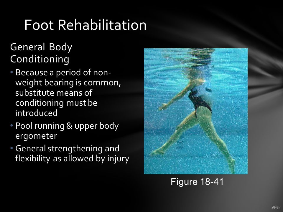 Foot Rehabilitation General Body Conditioning