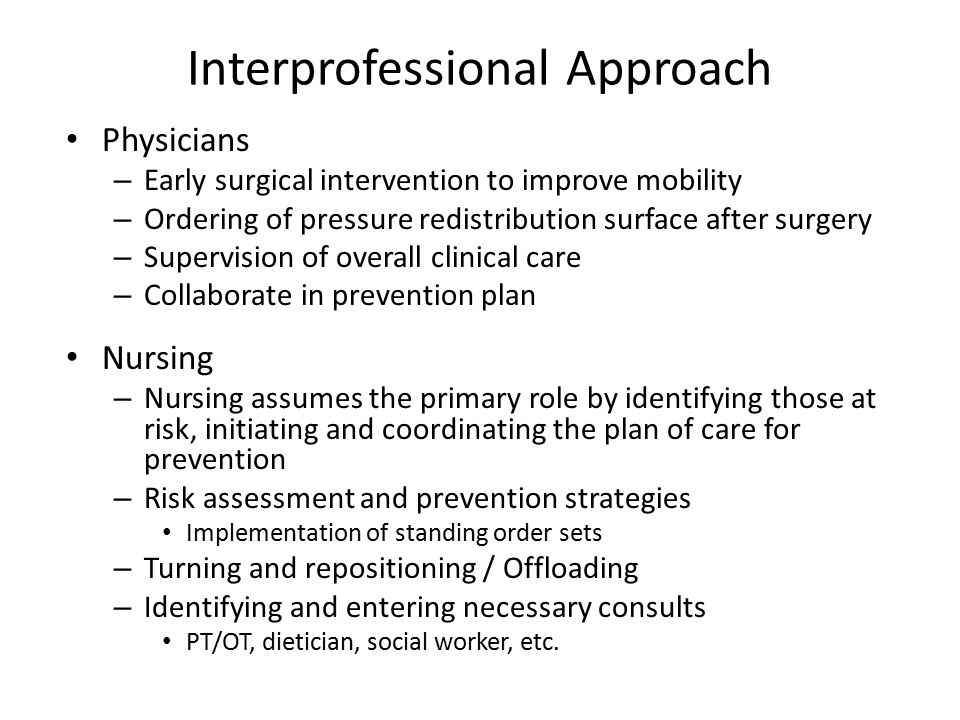 Interprofessional Approach