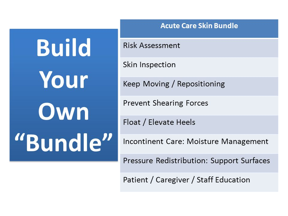 Pressure ulcer prevention revisited ppt download for Build your own home website