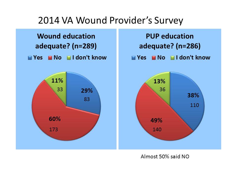 2014 VA Wound Provider's Survey