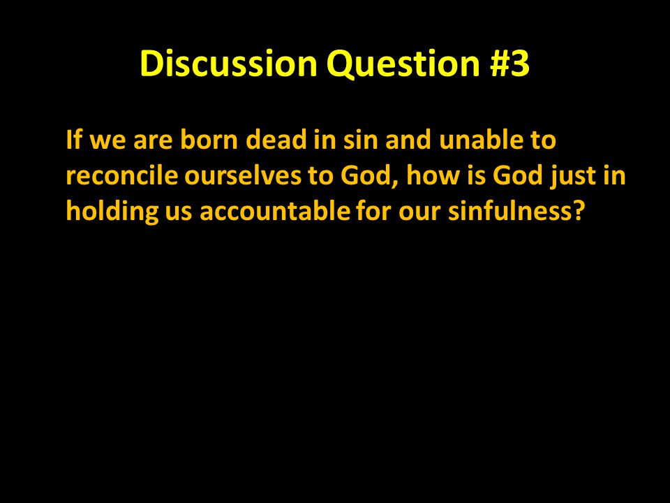 Discussion Question #3