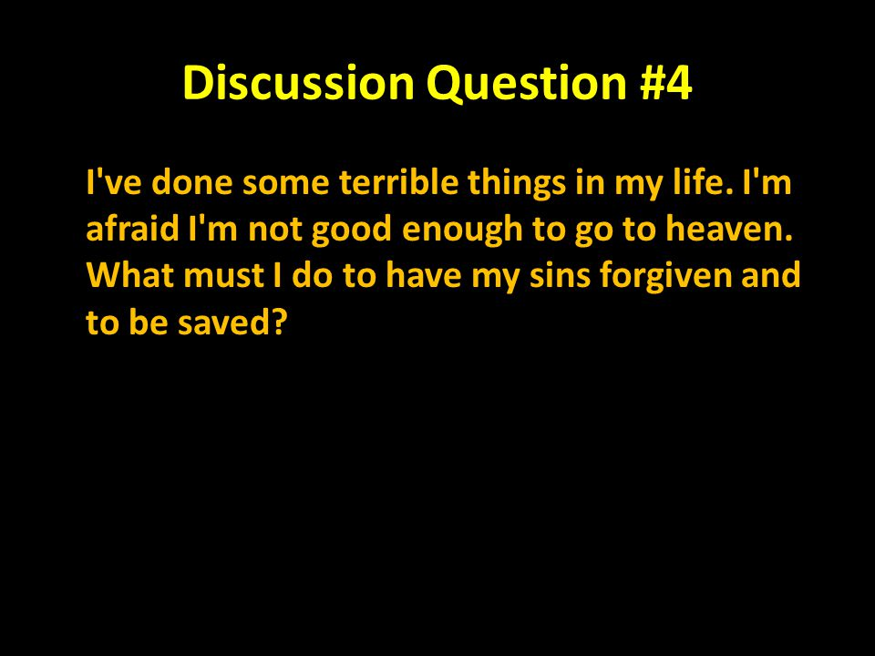 Discussion Question #4