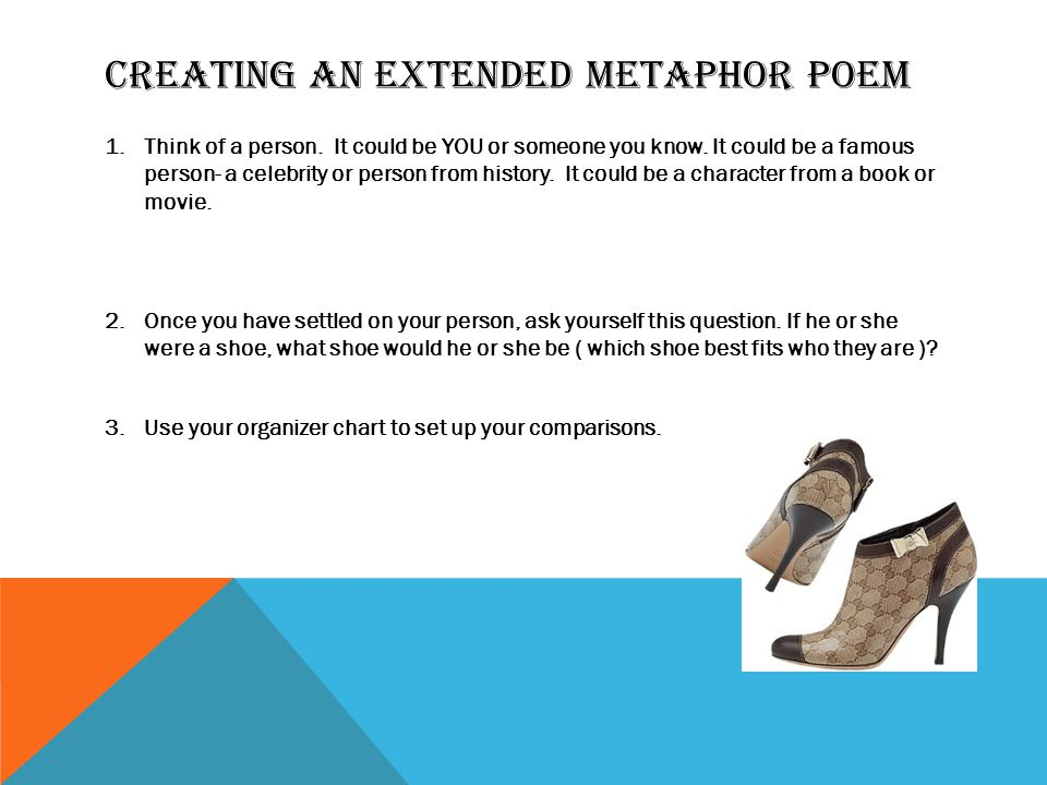 Creating aN Extended Metaphor Poem