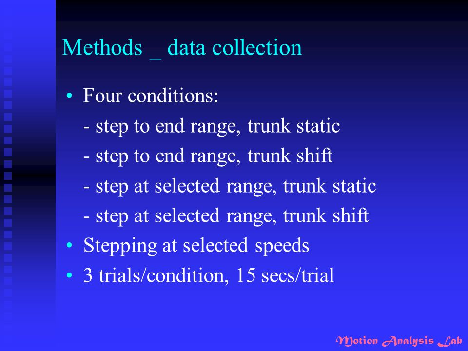 Methods _ data collection