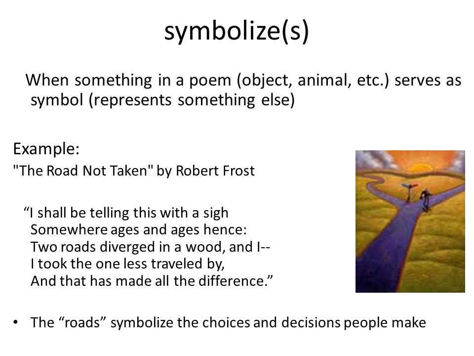 symbol literary example view symbol