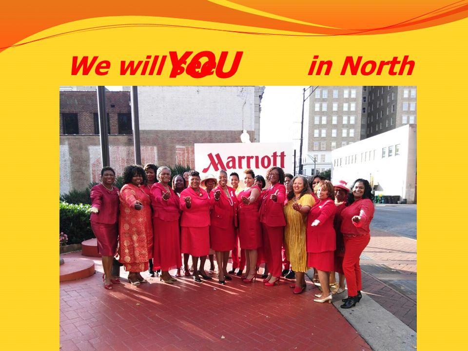 We will see in North Carolina!