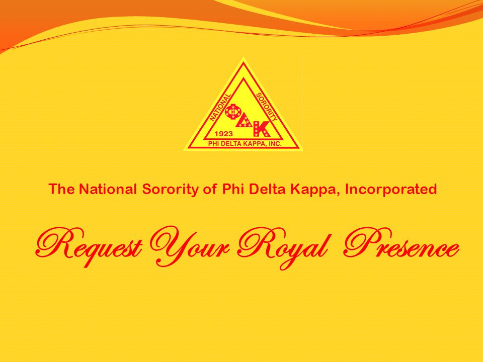Request Your Royal Presence