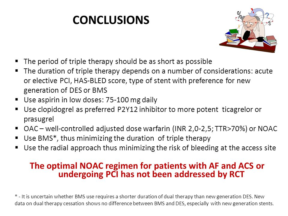 CONCLUSIONS The period of triple therapy should be as short as possible.