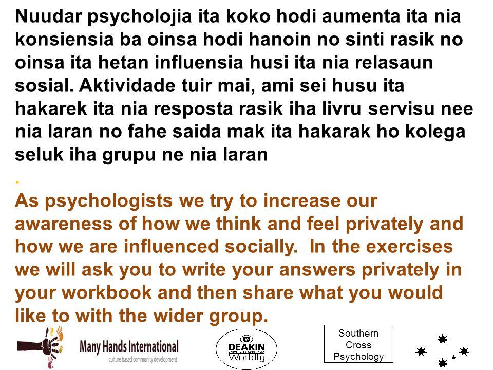 Southern Cross Psychology