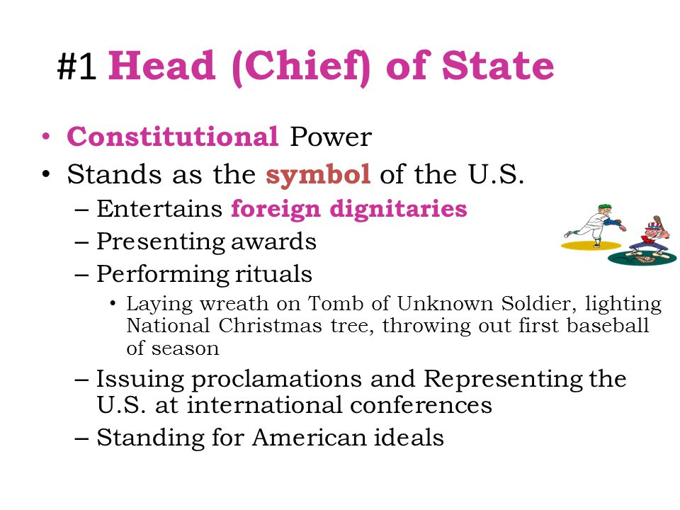 #1 Head (Chief) of State Constitutional Power
