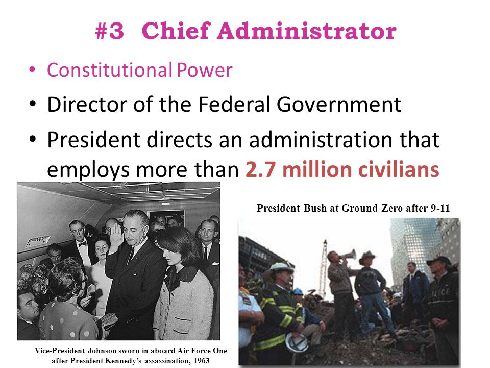 Director of the Federal Government