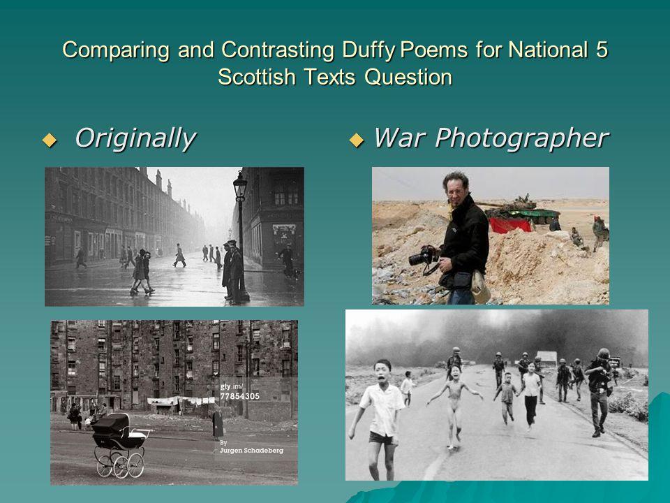 Originally War Photographer