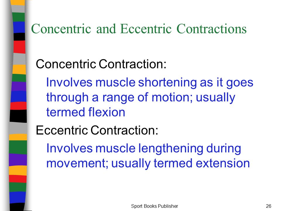 Concentric and Eccentric Contractions