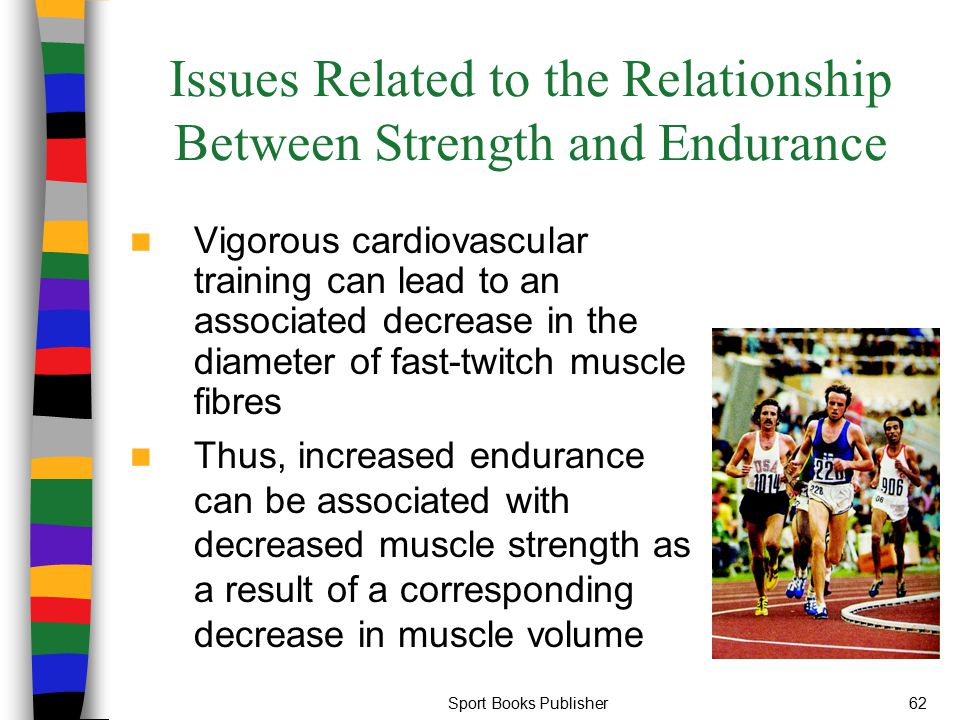 Issues Related to the Relationship Between Strength and Endurance