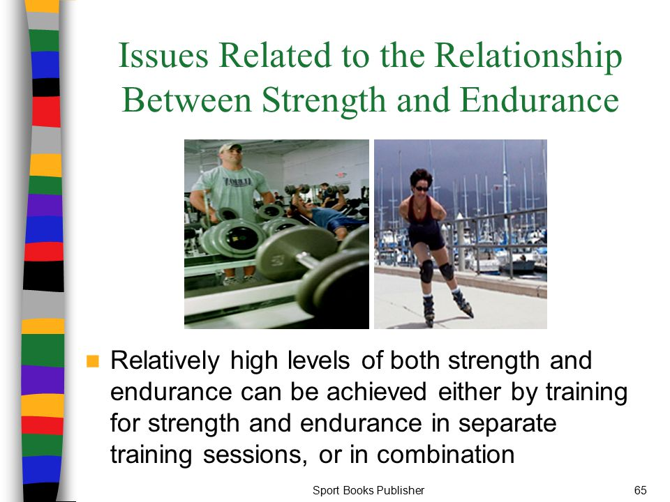is there a relationship between muscular strength and endurance