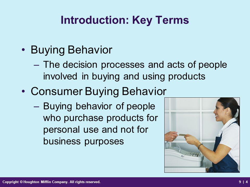 Introduction: Key Terms