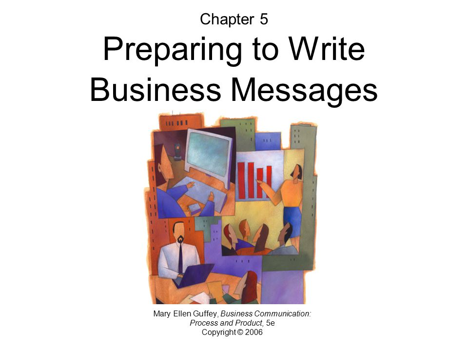 Chapter 5 Preparing to Write Business Messages