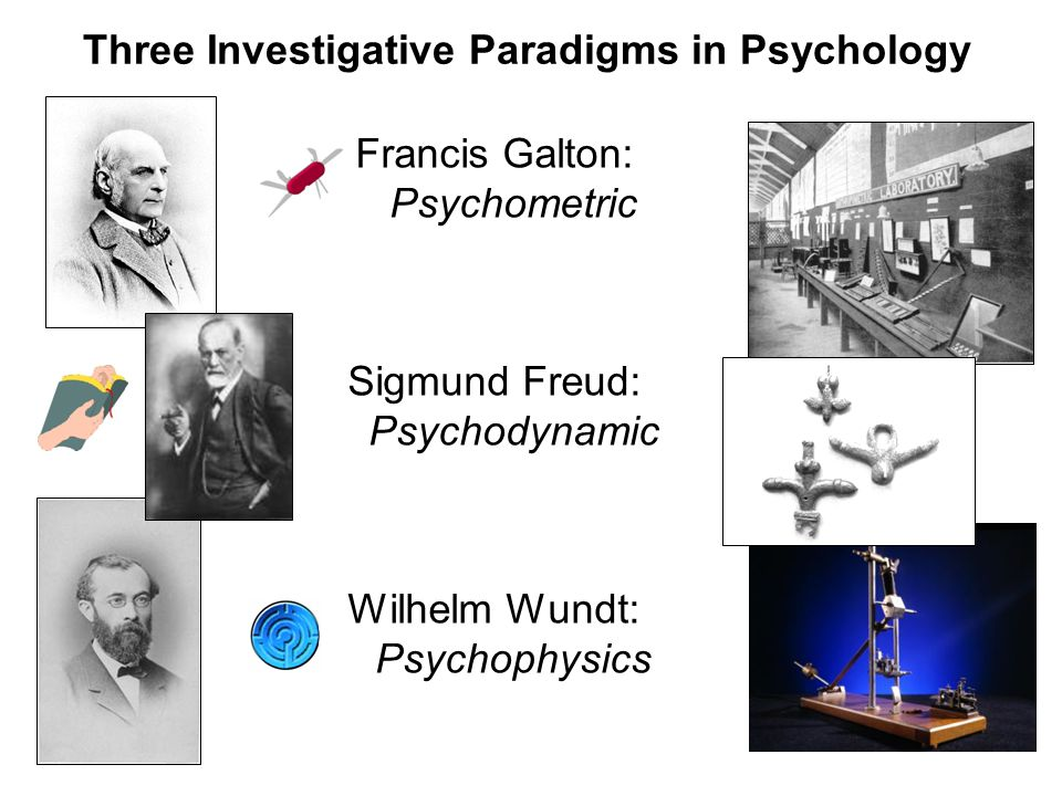 Three Investigative Paradigms in Psychology