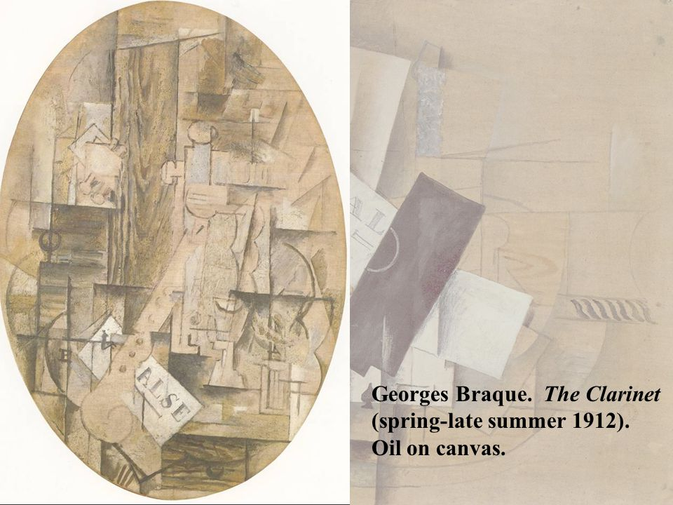 Georges Braque. The Clarinet