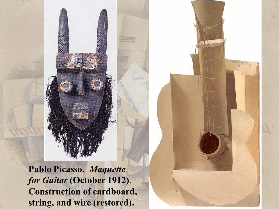 Pablo Picasso. Maquette
