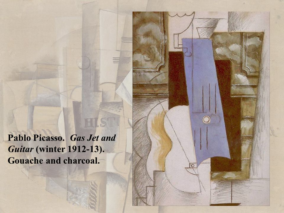 Pablo Picasso. Gas Jet and