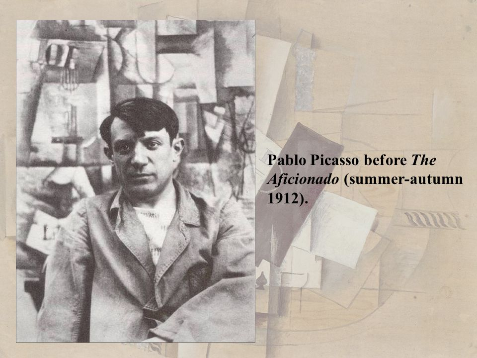 Pablo Picasso before The