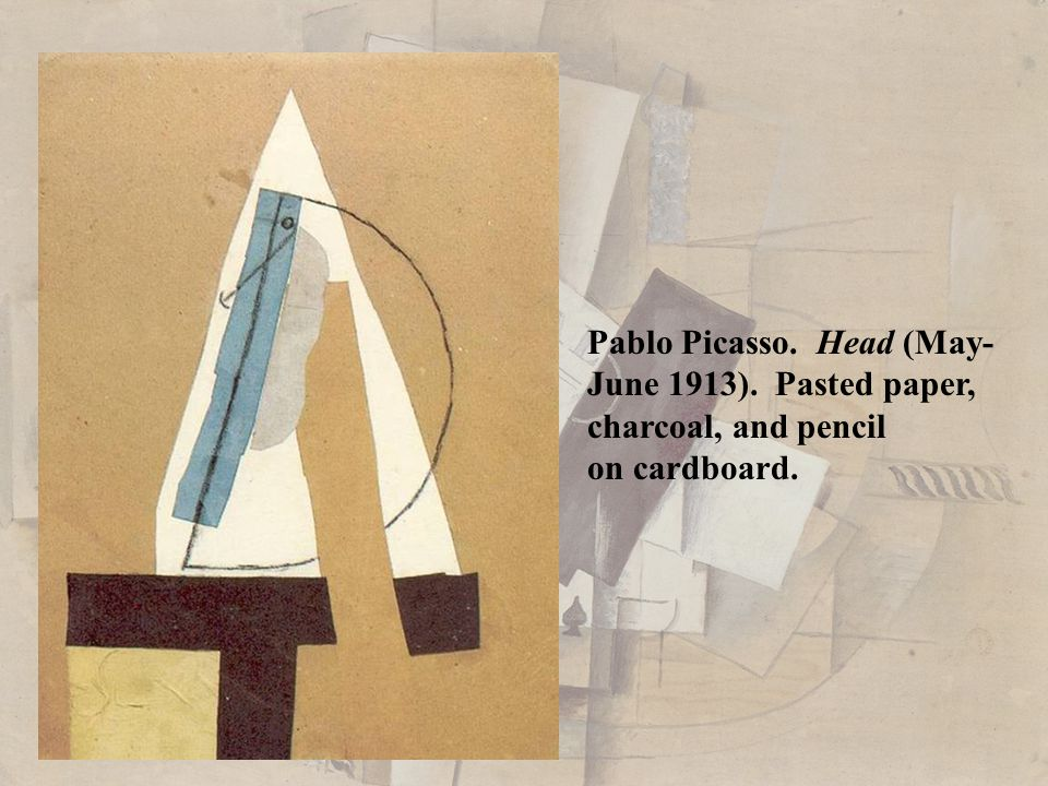 Pablo Picasso. Head (May-