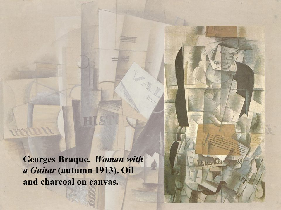 Georges Braque. Woman with