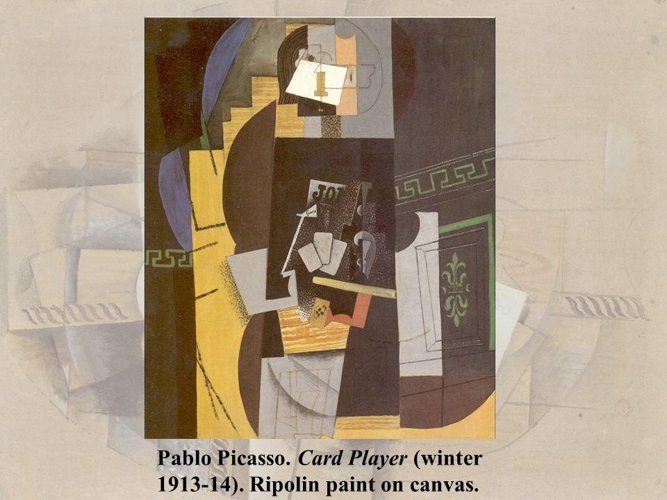 Pablo Picasso. Card Player (winter
