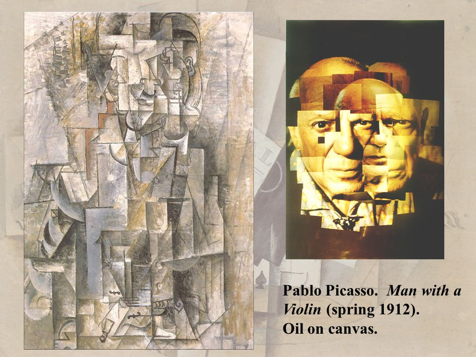 Pablo Picasso. Man with a